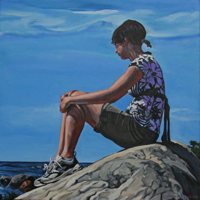 Christine Montague - Wistful on a Lake Huron Afternoon