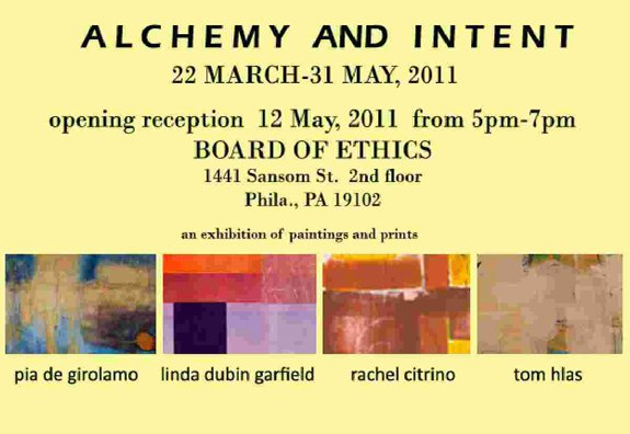 Alchemy and Intent Art Exhibition