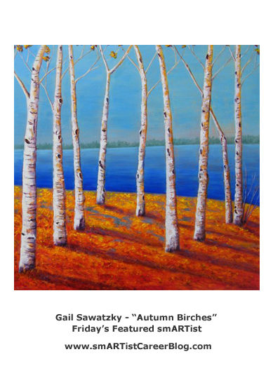 Gail Sawatzky - Autumn Birches
