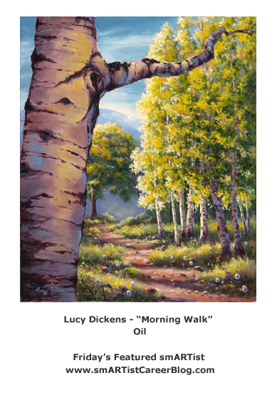 Friday's Featured smARTist Lucy Dickens