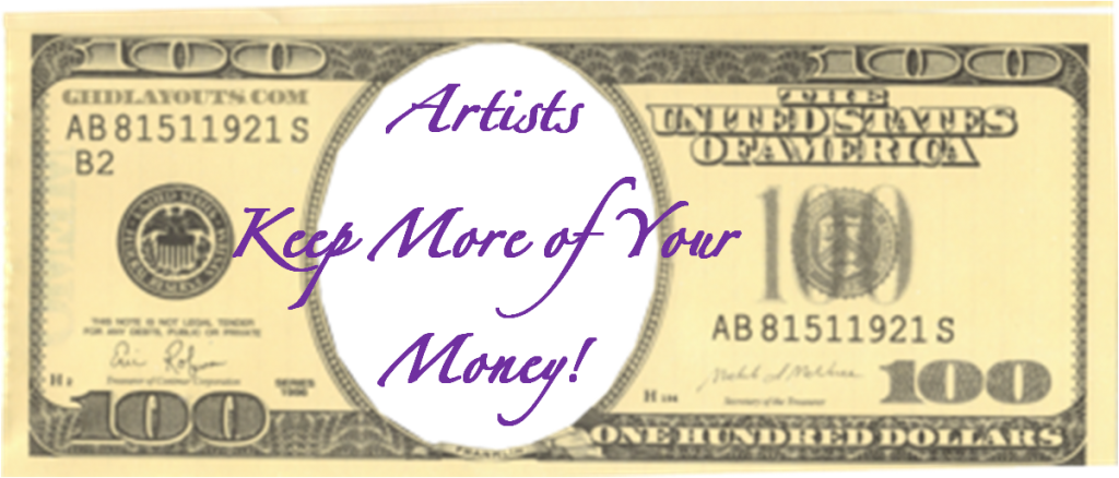 artists how to keep more of your money 2