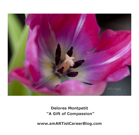 "Delores Montpetit - ""A Gift of Compassion"""