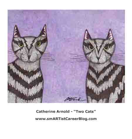 Catherine Arnold - Two Cats